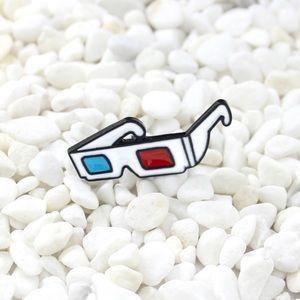 Jewelry - 3D Glasses Enamel Pin Brooch